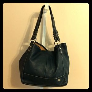 The Sak Pebble Leather Shoulder Bag